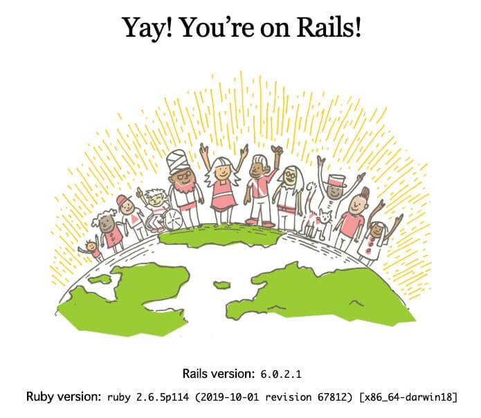Yay! You7re on Rails!